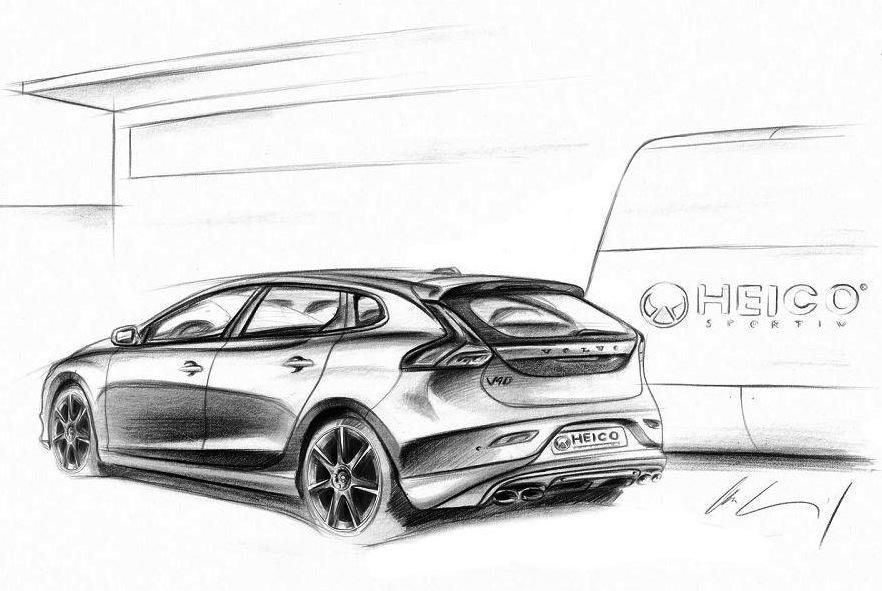 Heico Sportiv 2013 Volvo V40