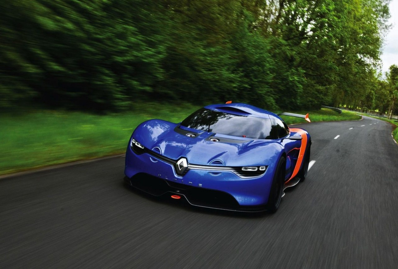 renault alpine a110 50 concept officially unveiled. Black Bedroom Furniture Sets. Home Design Ideas
