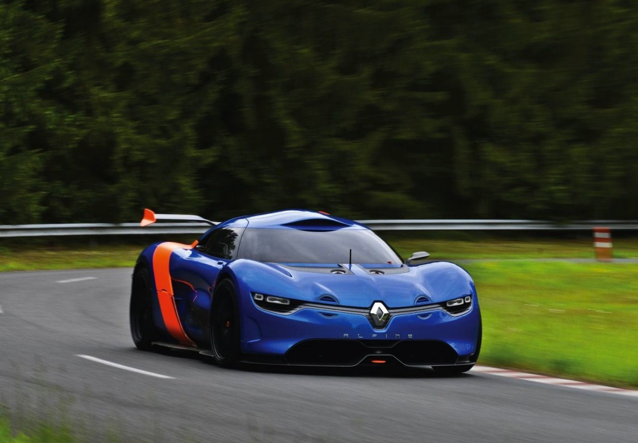 renault alpine a110 50 concept officially unveiled performancedrive. Black Bedroom Furniture Sets. Home Design Ideas