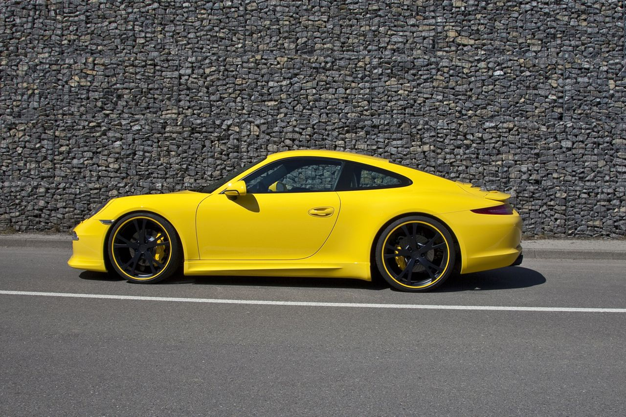 Techart 2012 Porsche 911 Rear Spoilers Announced