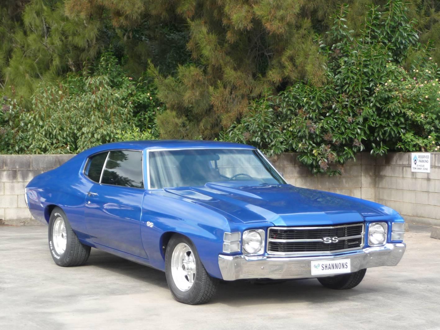 1972 Chevrolet Chevelle Coupe SS MotorEx - PerformanceDrive
