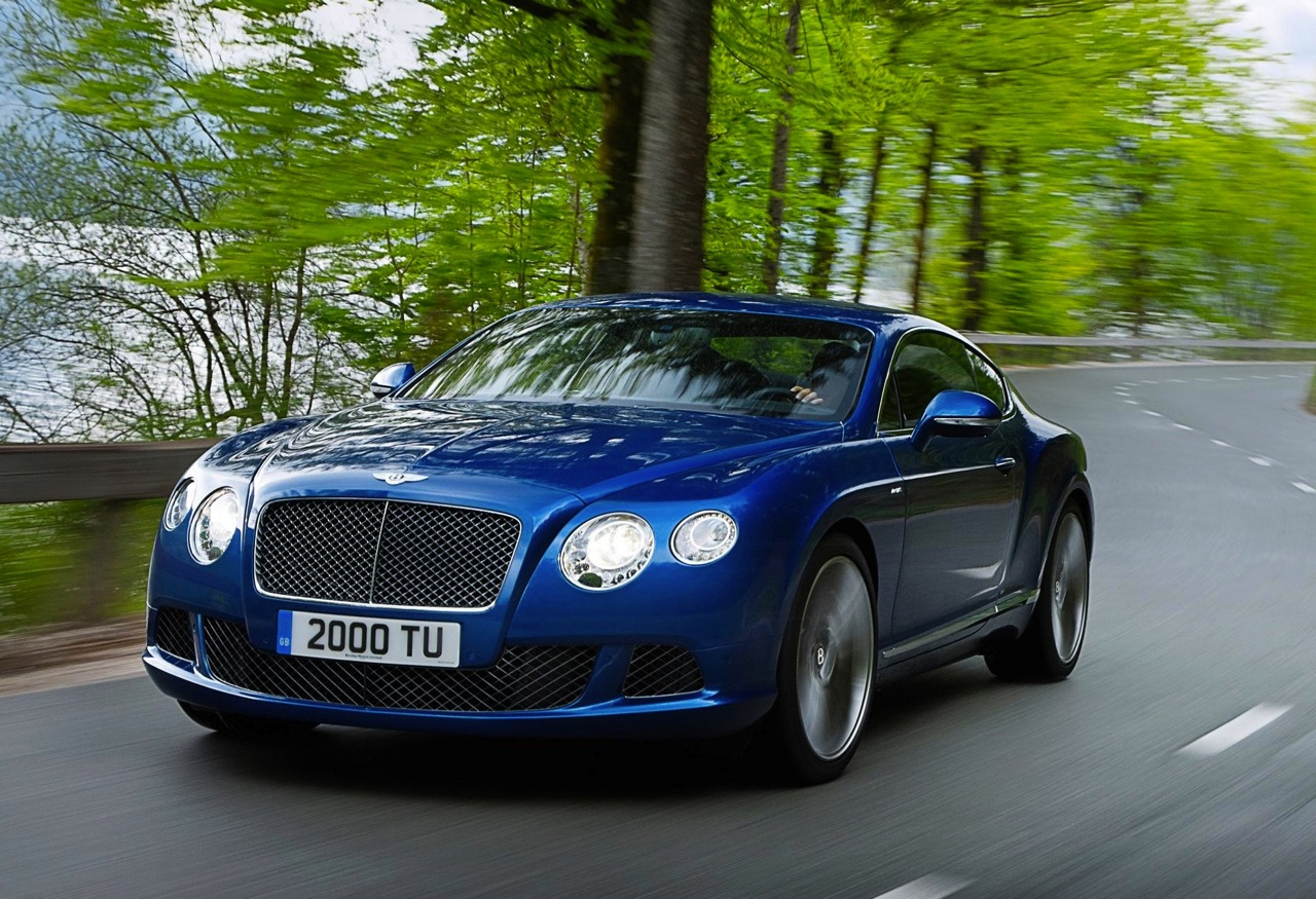 2012 bentley continental gt speed unveiled fastest model ever performancedrive. Black Bedroom Furniture Sets. Home Design Ideas