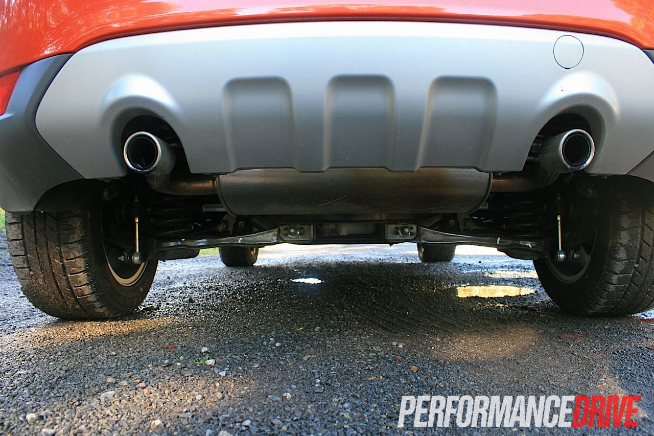2012 Ford Kuga Trend Exhaust