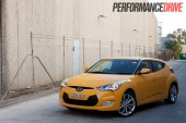 2012 Hyundai Veloster front side