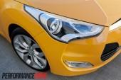 2012 Hyundai Veloster headlight