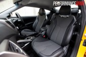 2012 Hyundai Veloster seats