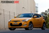 2012 Hyundai Veloster side front