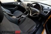 2012 Hyundai Veloster steering wheel