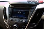 2012 Hyundai Veloster stereo