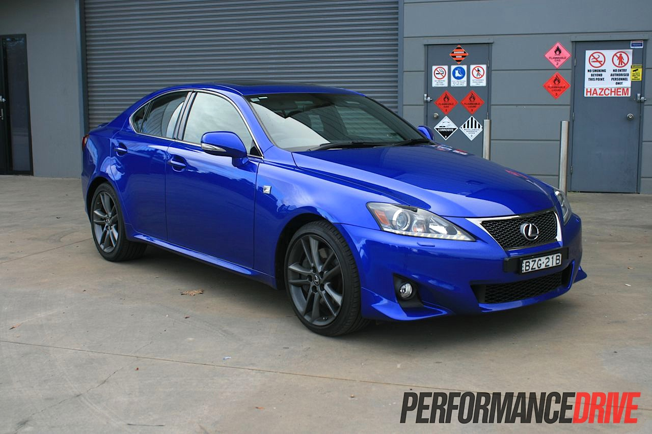 2012 lexus is 350 f sport review performancedrive. Black Bedroom Furniture Sets. Home Design Ideas