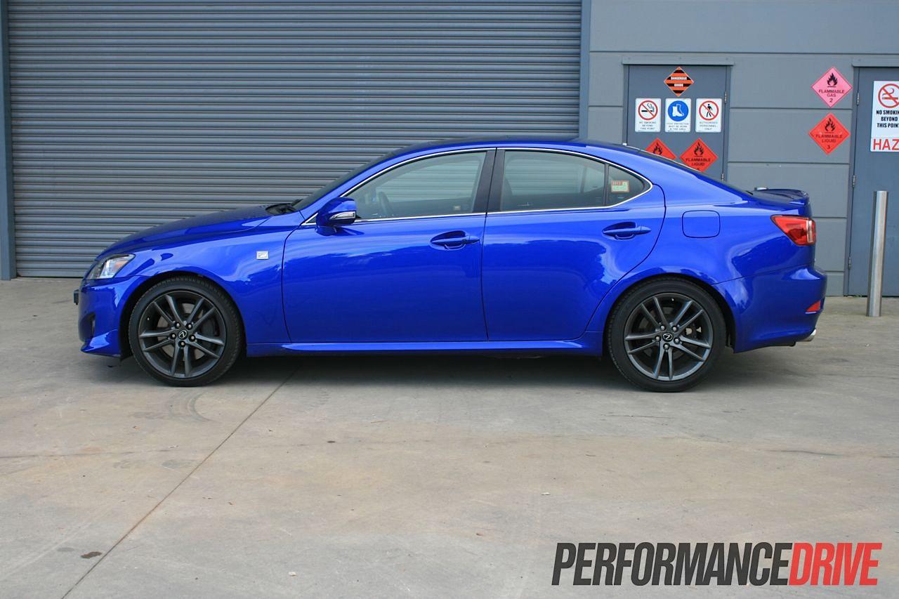 2012 lexus is 350 f sport side |