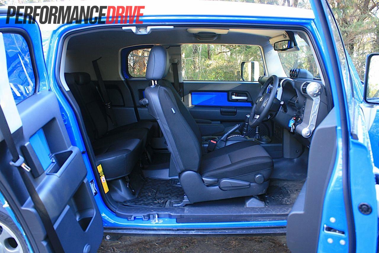 2012 Toyota Fj Cruiser Doors Open