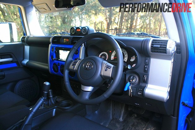 Mclaren For Sale >> 2012 Toyota FJ Cruiser interior