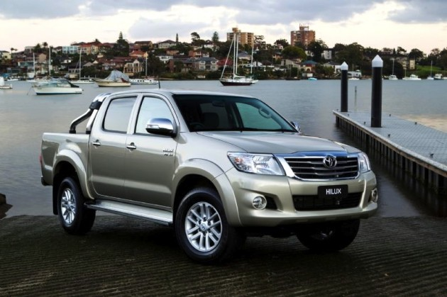 Australian vehicle sales for May 2012 - HiLux maintains...