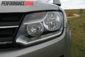 2012 Volkswagen Amarok Trendline headlight