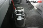 2012 Volkswagen Amarok Trendline rear cupholders