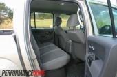 2012 Volkswagen Amarok Trendline rear seat
