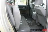 2012 Volkswagen Amarok Trendline rear seat fold
