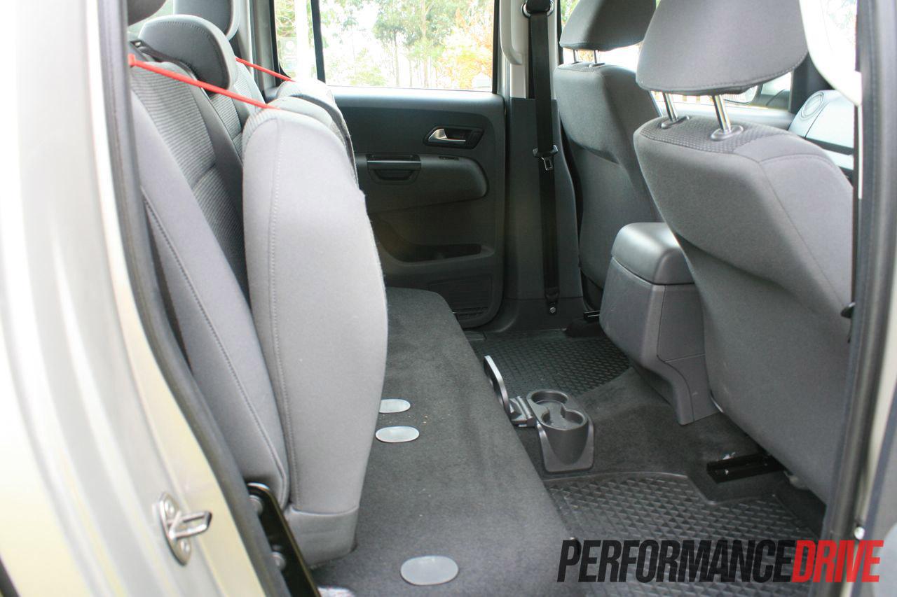 2012 Volkswagen Amarok Trendline Review Performancedrive