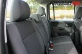 2012 Volkswagen Amarok Trendline rear seats