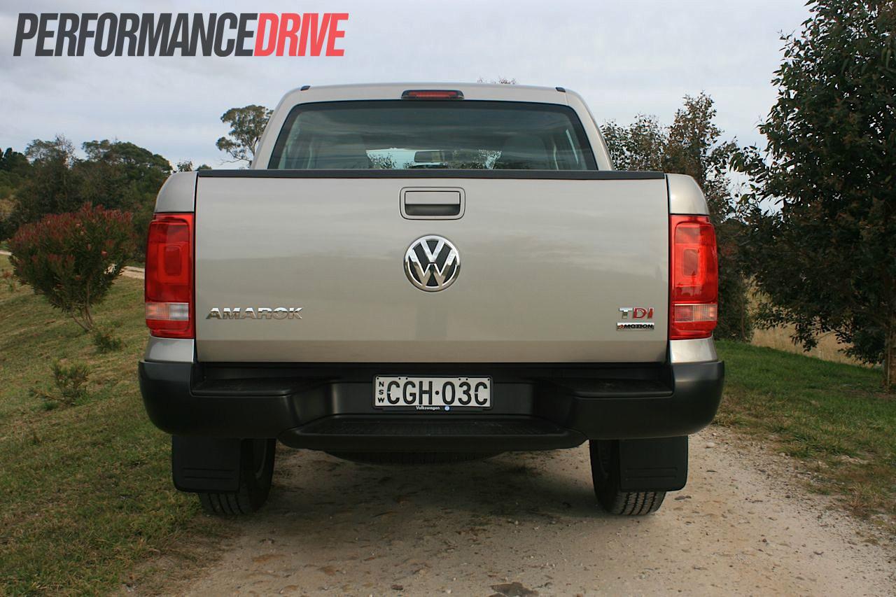 2012 Volkswagen Amarok Trendline Rear  U2013 Performancedrive
