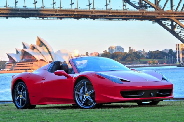 Ferrari 458 Spider arrives in Australia, just 10 delivered this year