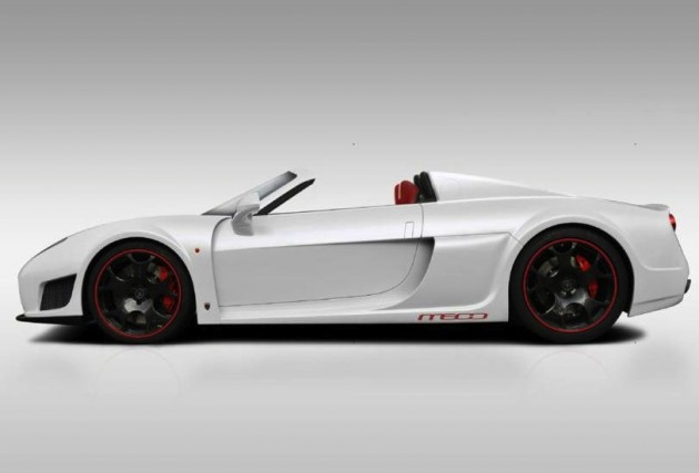 noble m600 roadster rendering hints production