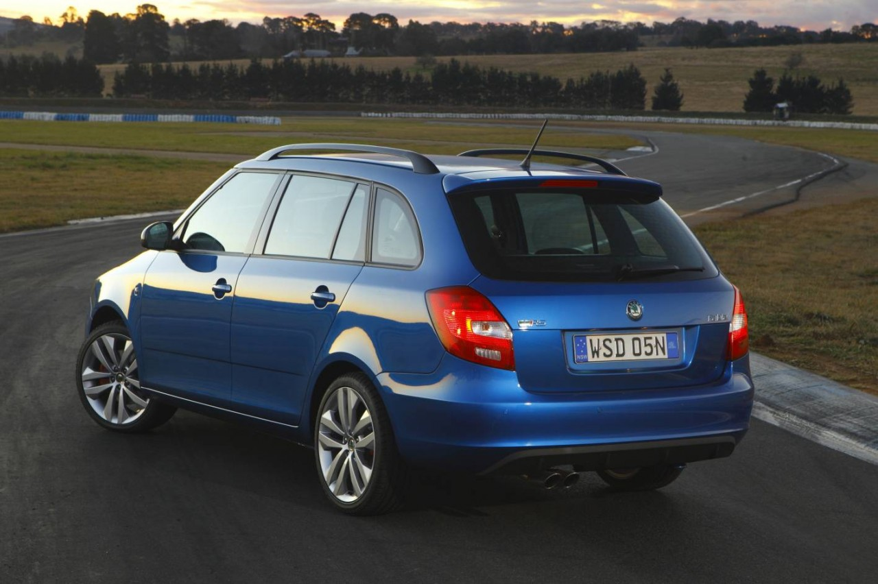 skoda fabia rs now on sale in australia from 27 990 performancedrive. Black Bedroom Furniture Sets. Home Design Ideas