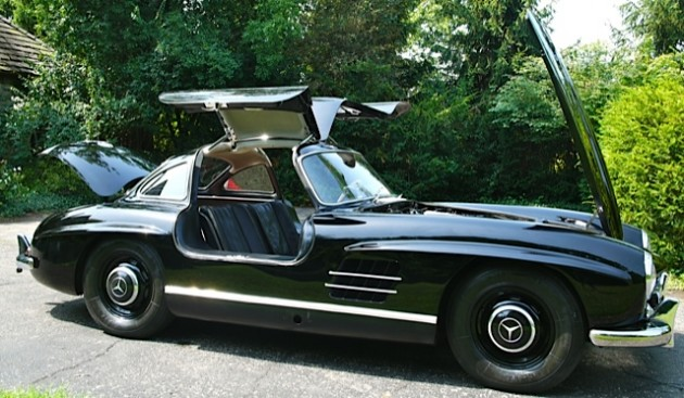 Mercedes benz 300sl gullwing replica for sale for Mercedes benz 300sl for sale