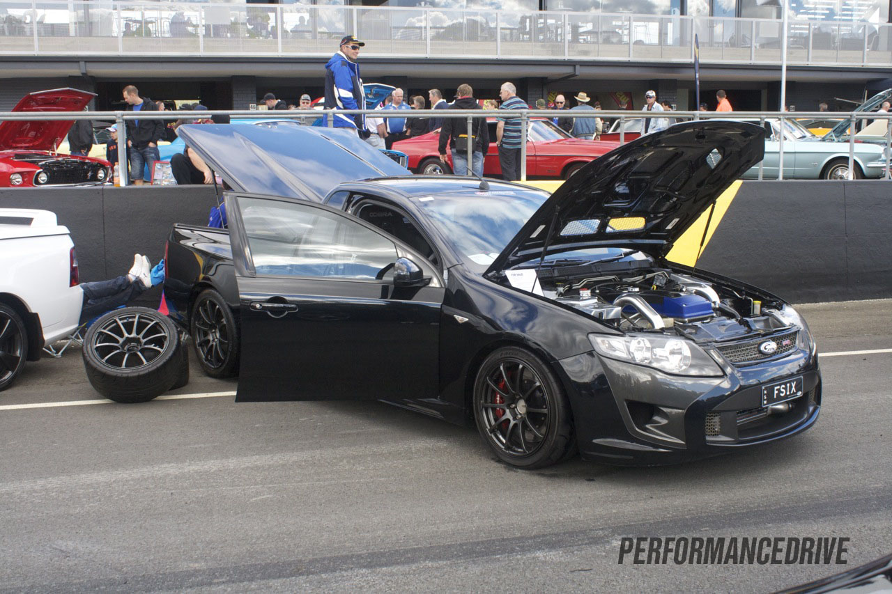 2012 All Ford Day Fpv F6 Black Ute