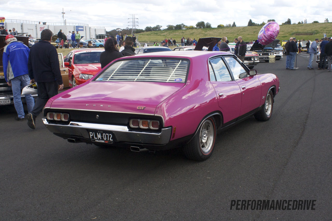 2012 All Ford Day Ford Falcon Xa Gt Purple
