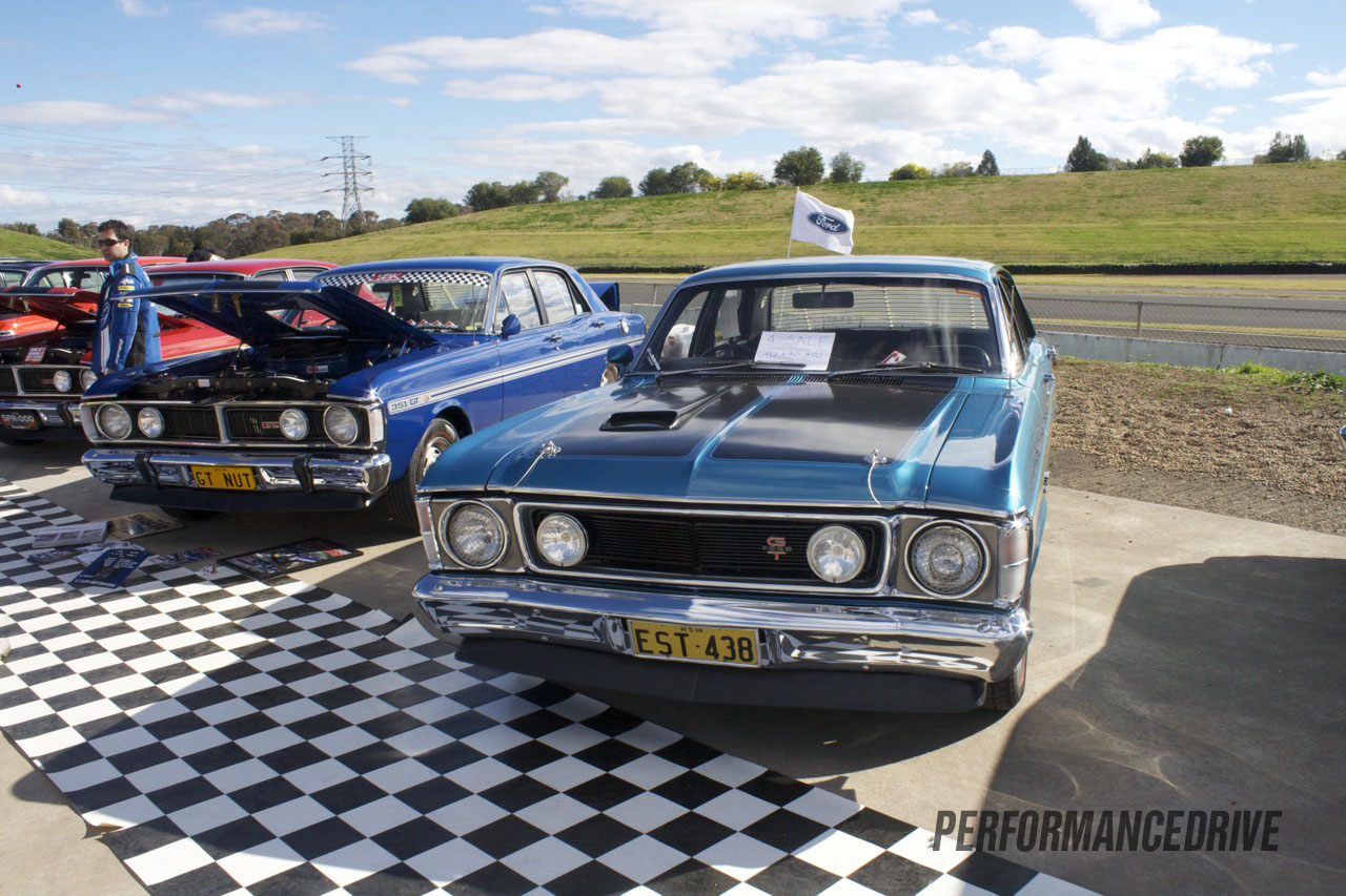 2012 All Ford Day Ford Falcon Xy And Xw Gt Blue