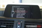 2012 BMW 320i Sport Line 6.5-inch screen menu