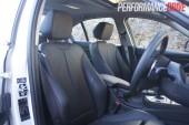 2012 BMW 320i Sport Line adjustable side bolsters