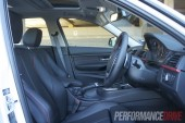 2012 BMW 320i Sport Line cabin