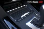 2012 BMW 320i Sport Line cup holder cover on