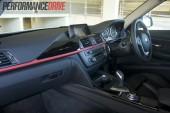 2012 BMW 320i Sport Line dash stripe