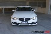 2012 BMW 320i Sport Line front