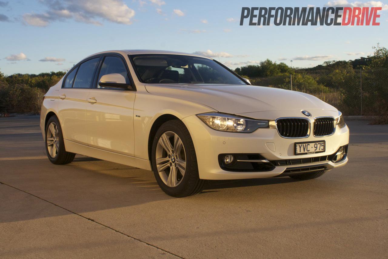 BMW I Sport Line Front Side - 320i bmw 2012