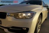 2012 BMW 320i Sport Line headlight