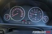 2012 BMW 320i Sport Line instrument cluster
