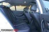 2012 BMW 320i Sport Line rear seats