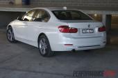 2012 BMW 320i Sport Line rear side