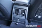 2012 BMW 320i Sport Line rear vents