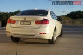 2012 BMW 320i Sport Line side rear