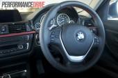2012 BMW 320i Sport Line sports steering wheel