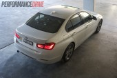 2012 BMW 320i Sport Line taillights