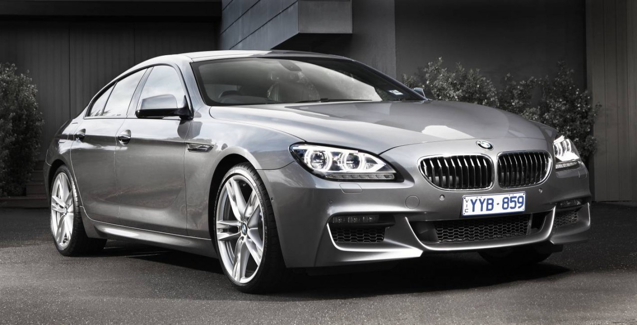 2012 bmw 6 series gran coupe now on sale in australia performancedrive. Black Bedroom Furniture Sets. Home Design Ideas