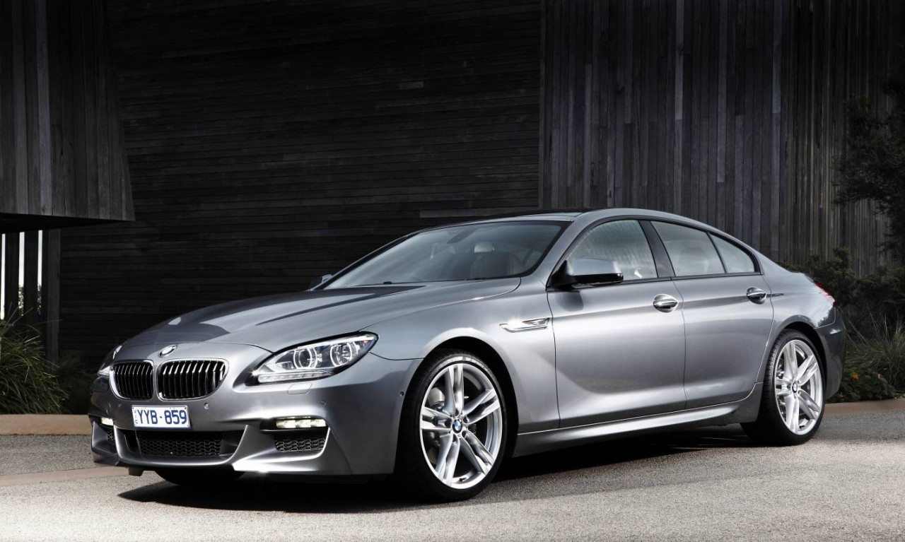 2012 bmw 6 series gran coupe now on sale in australia. Black Bedroom Furniture Sets. Home Design Ideas