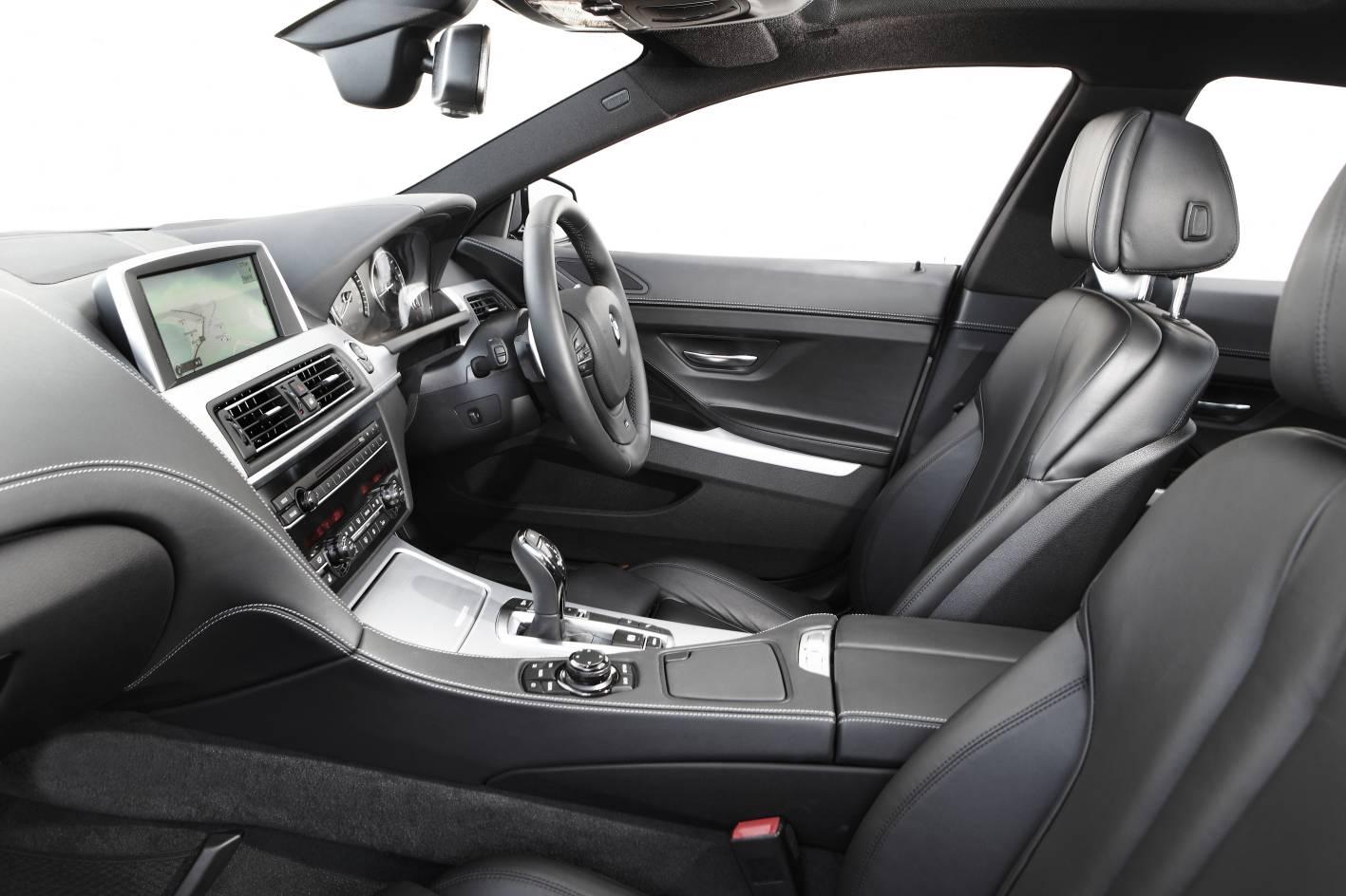 2012 BMW 6 Series Gran Coupe interior |